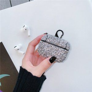 NEW Luxury Bling Hard Apple Airpods 1 2 Pro case